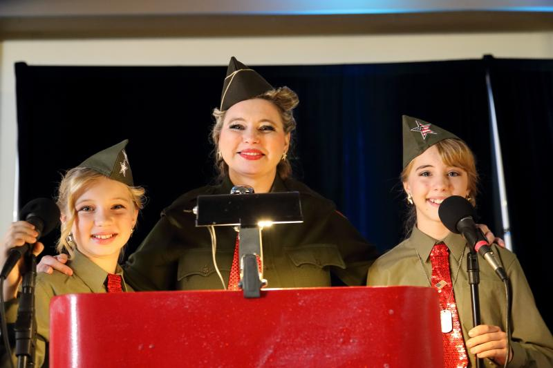 Andrews Sisters Tribute Trio family